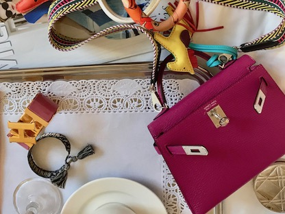 Hermes Kelly Bag 20