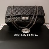 CHANEL BAG 255 MAXI MADEMOISSELE IN BLACK VINTAGE LOOK