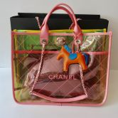 CHANEL BAG SHOPPER IN PVC MULTICOLORE